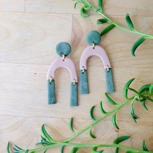 Clay Earrings (Free gift with purchase)